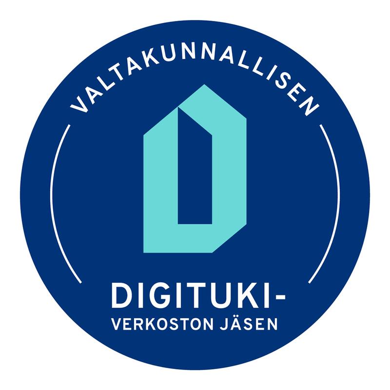 Olemme valtakunnallisen digitukiverkoston jäsen