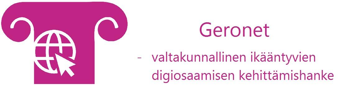 Geronet-hankkeen logo
