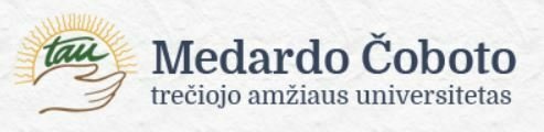 Logo: Medardo Čoboto trečiojo amžiaus universitetas