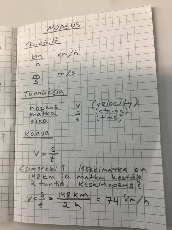 Miten Lasketaan Keskinopeus