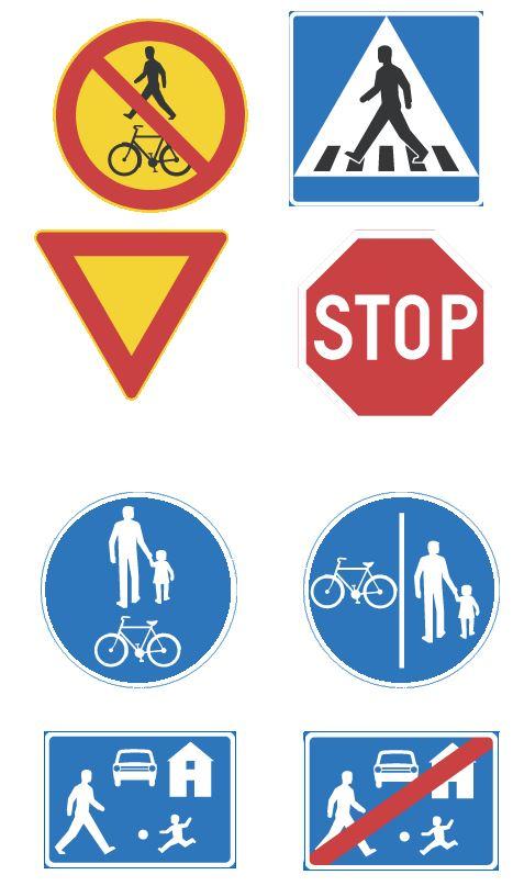 Liikennemerkkejä