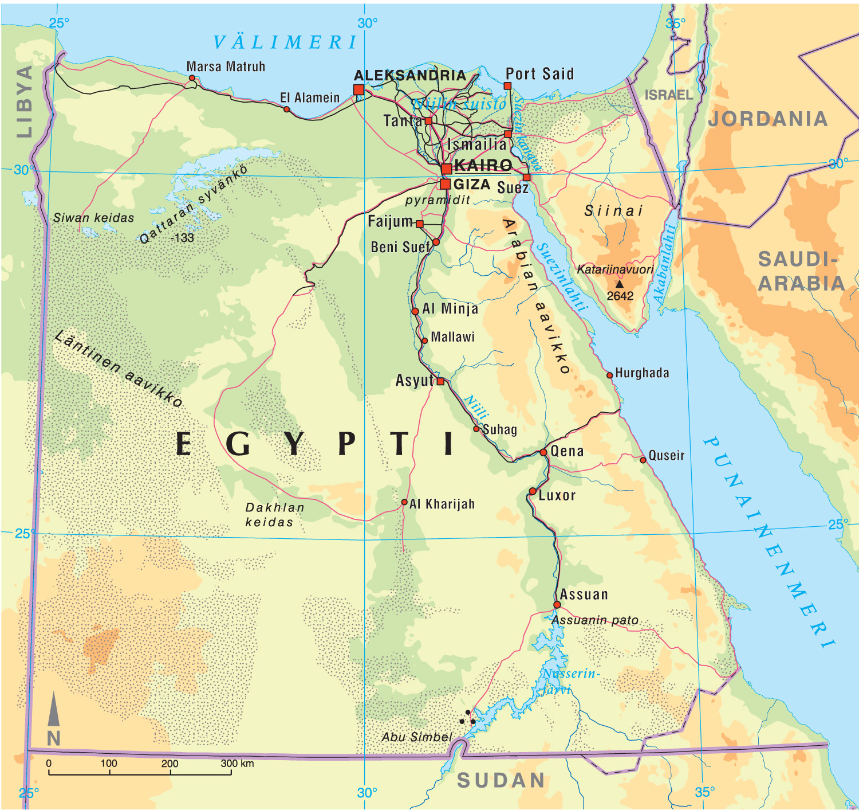 Egyptin Kartta