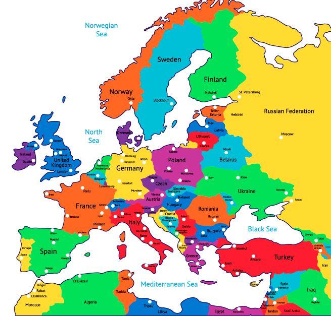 Euroopankartta