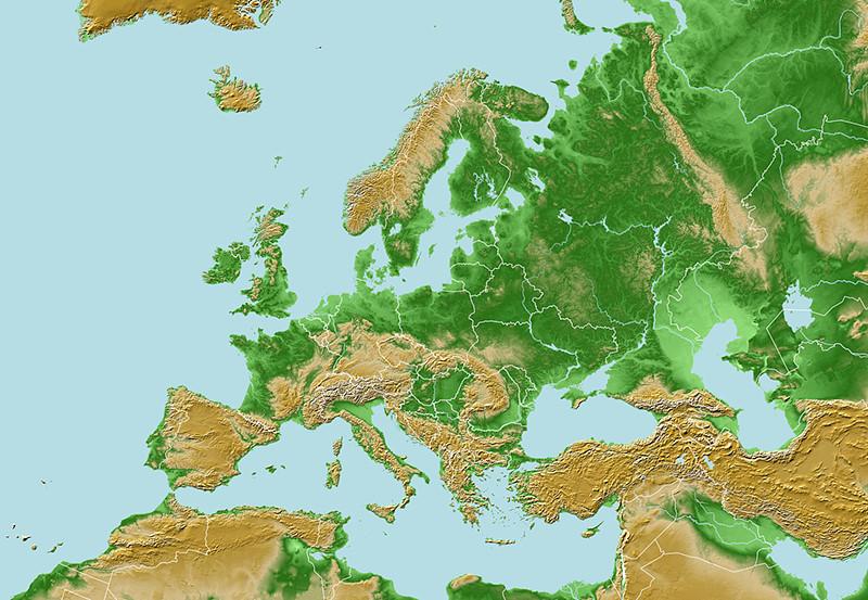 Kartat Eurooppa