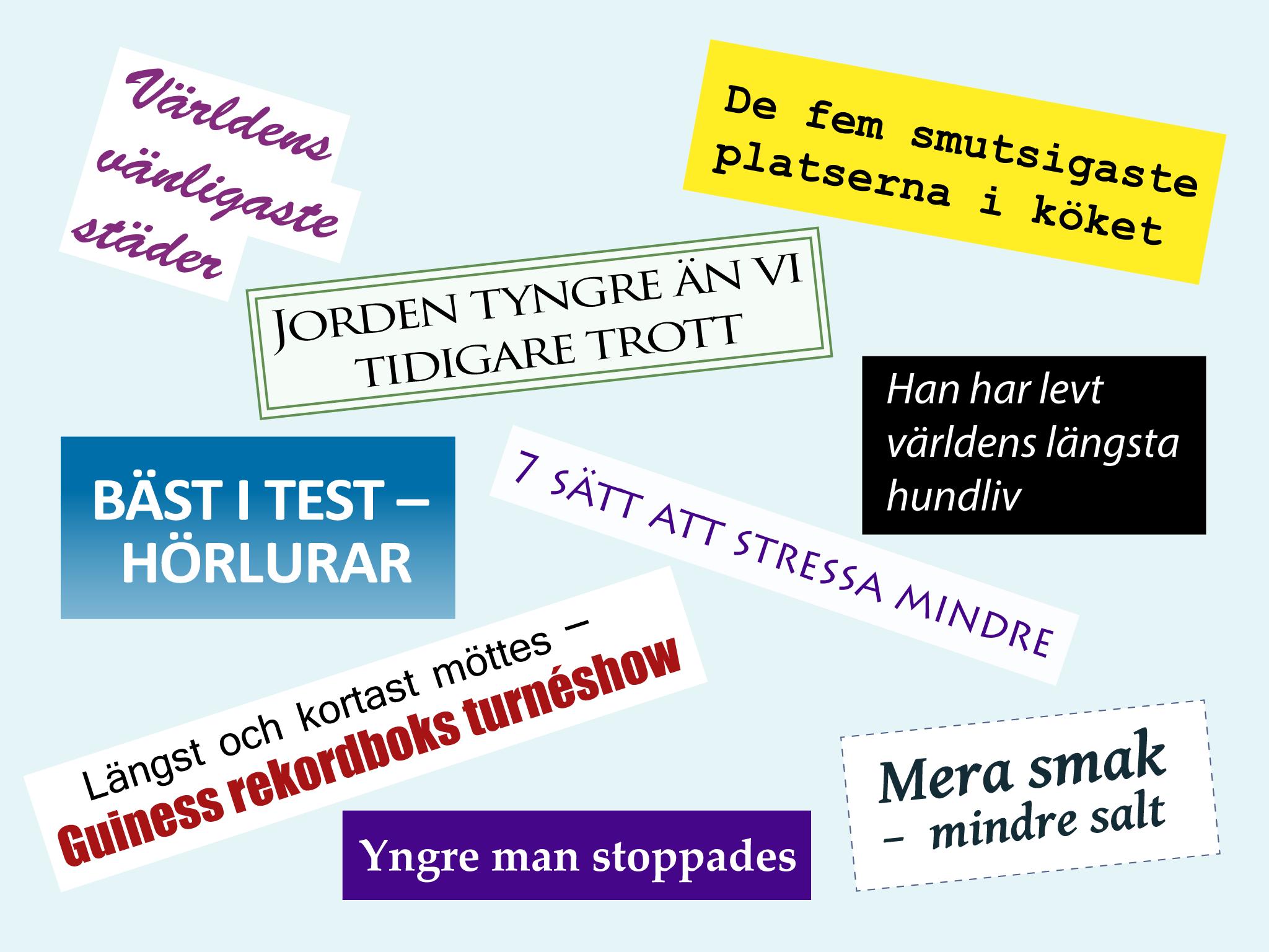 Ruotsi Adjektiivit