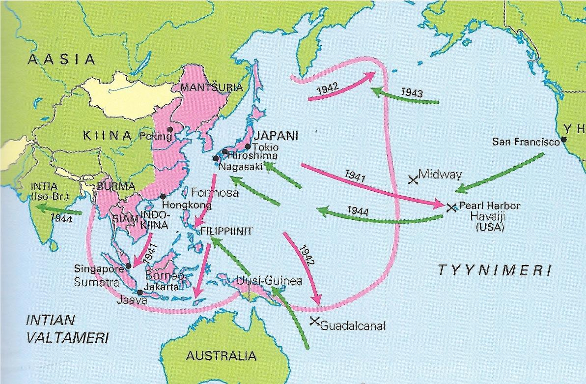 Tyynenmeren Taistelut