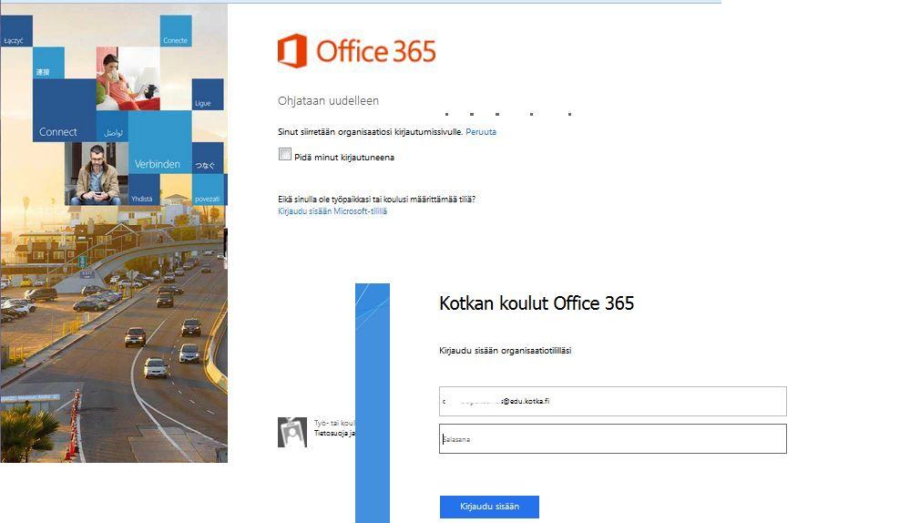365 office kirjautuminen Riihimaki