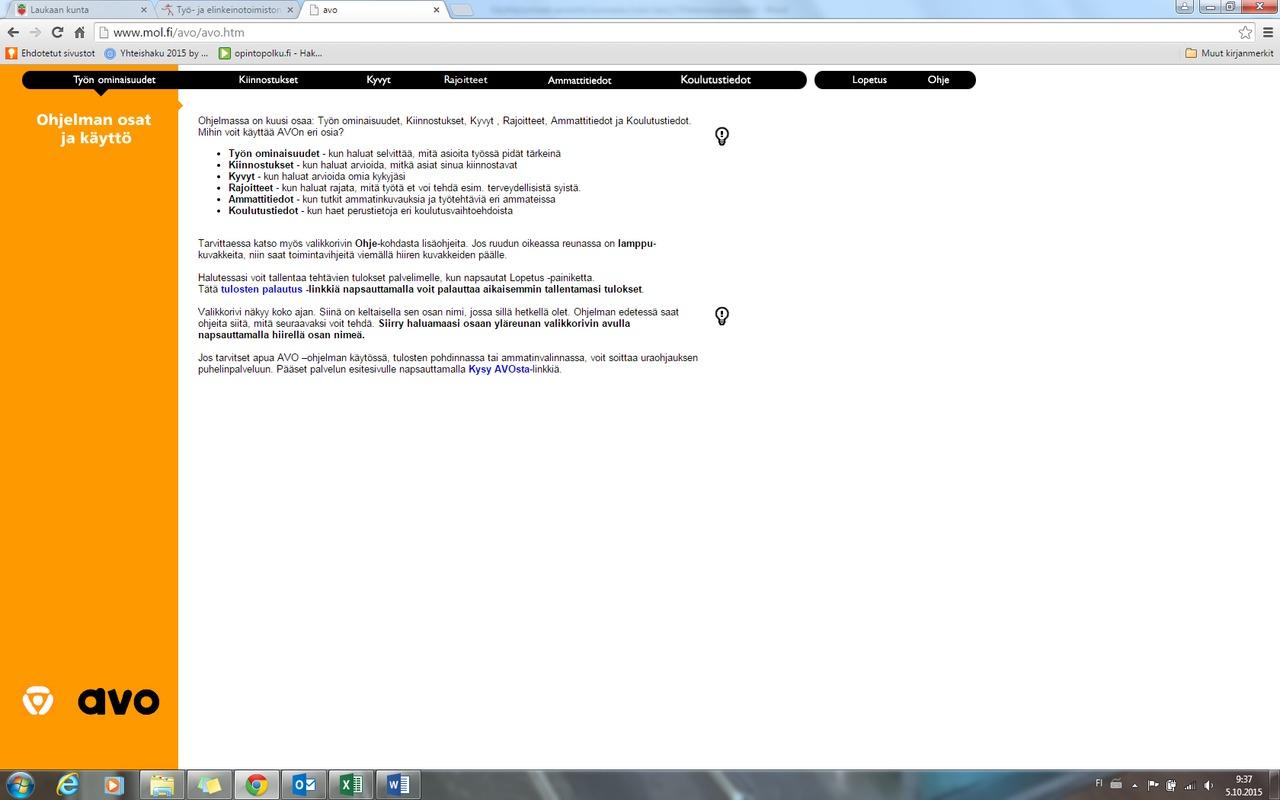 Ammatillisen tutkintotodistuksen liite (Europass Certificate Supplement)