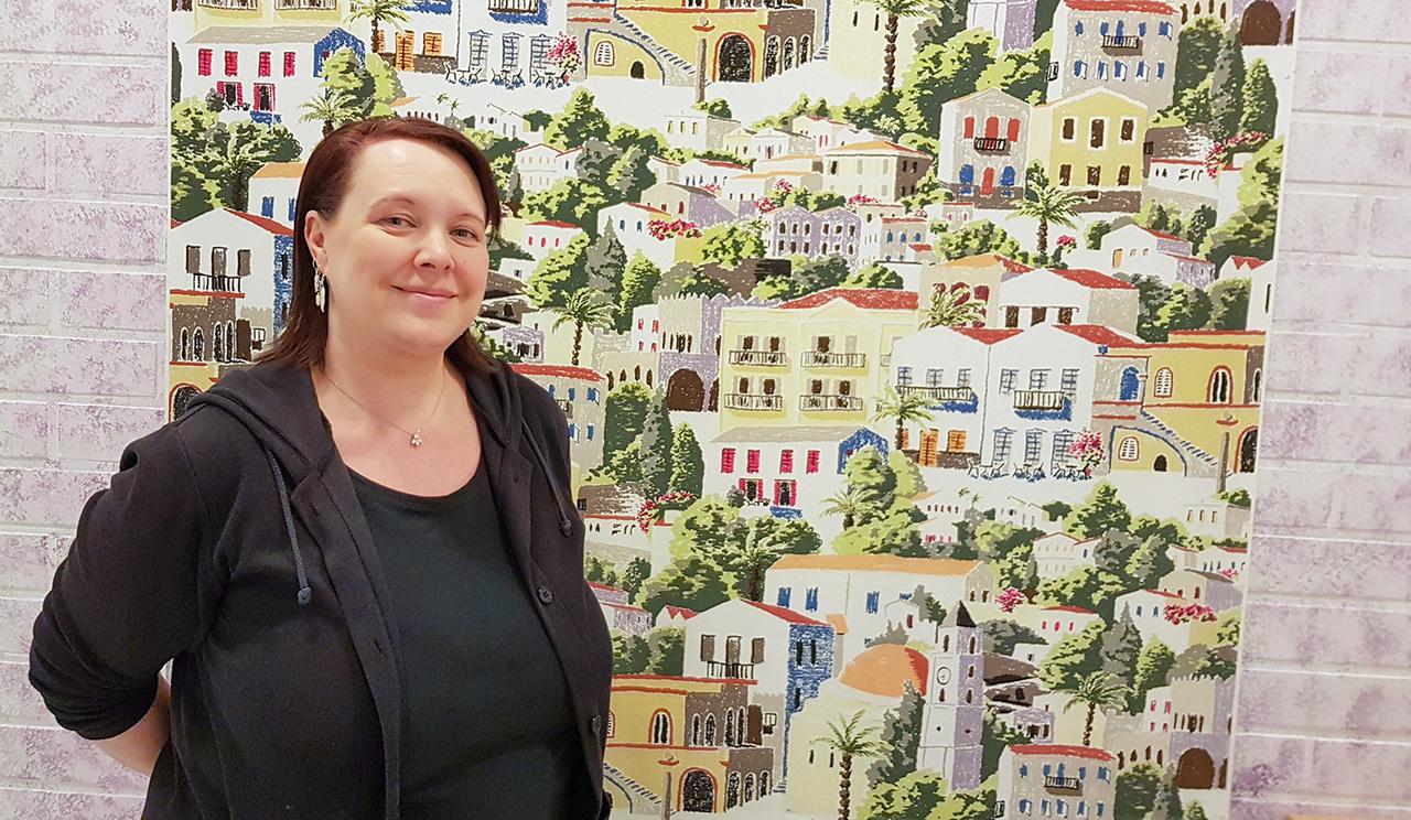Hiiden Opiston Digitaidot tutuksi -hankkeen hankekoordinaattori Anne-Marie Malinen