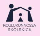 KouluKunnossa -hankkeen logo. Kuvaa klikkaamalla pääsee hankkeen verkkosivuille