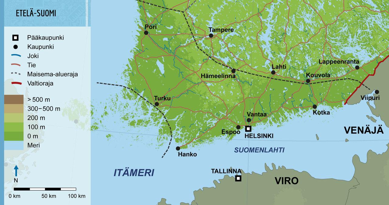2 Saaristo Suomi Ja Etela Suomi