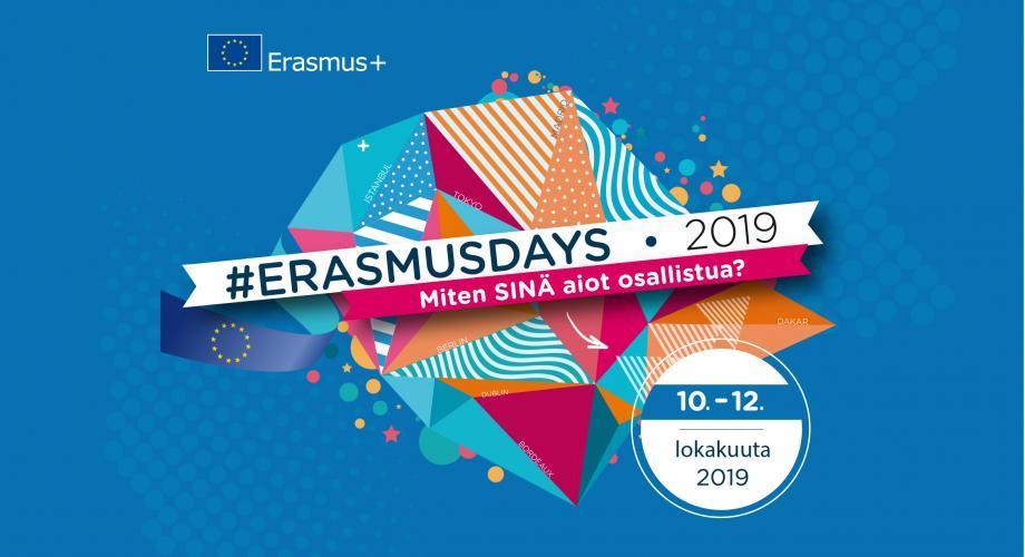 Erasmusdays mainos 2019