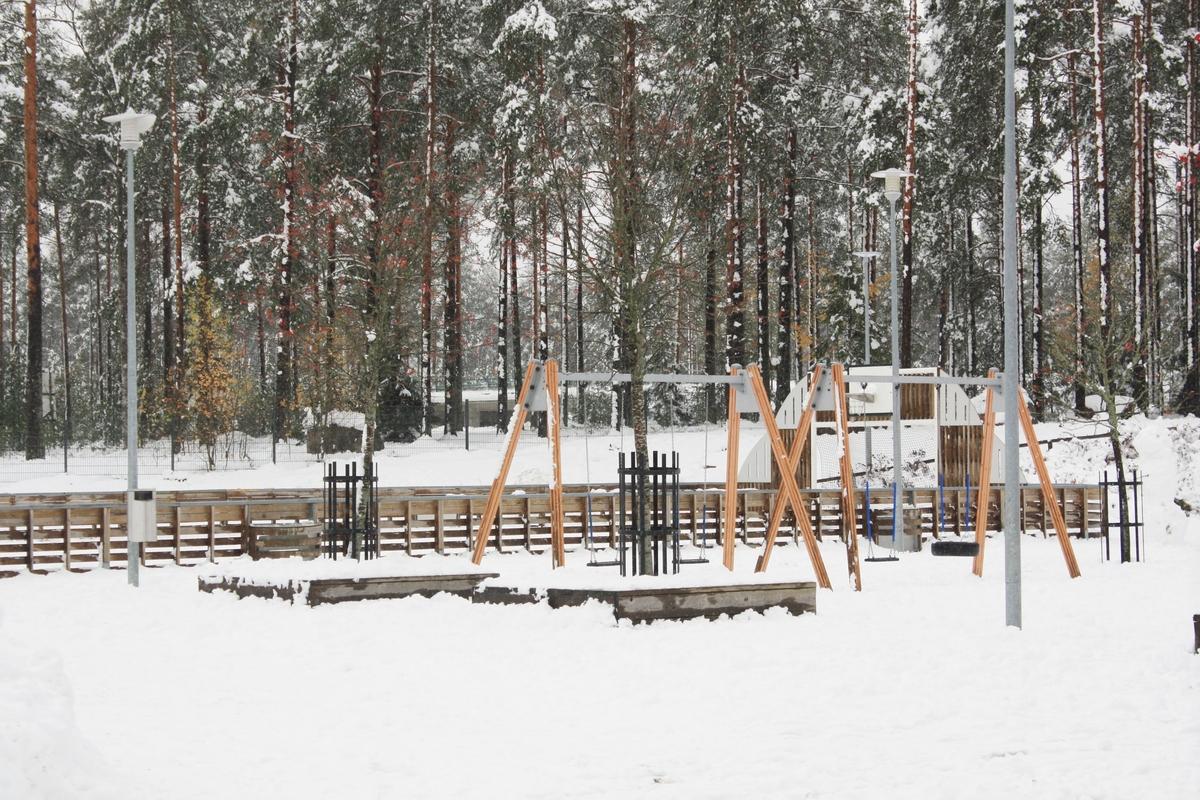 Peliareena Mäntynummen yhtenäiskoululla
