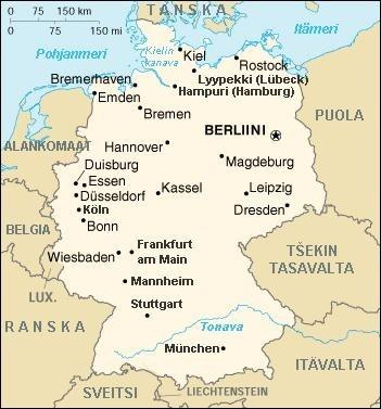 Saksa Kaupungit