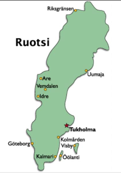Ruotsin Karttapaikka