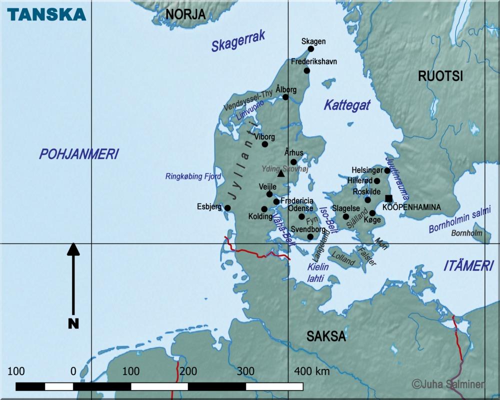 Venäjä Kartta