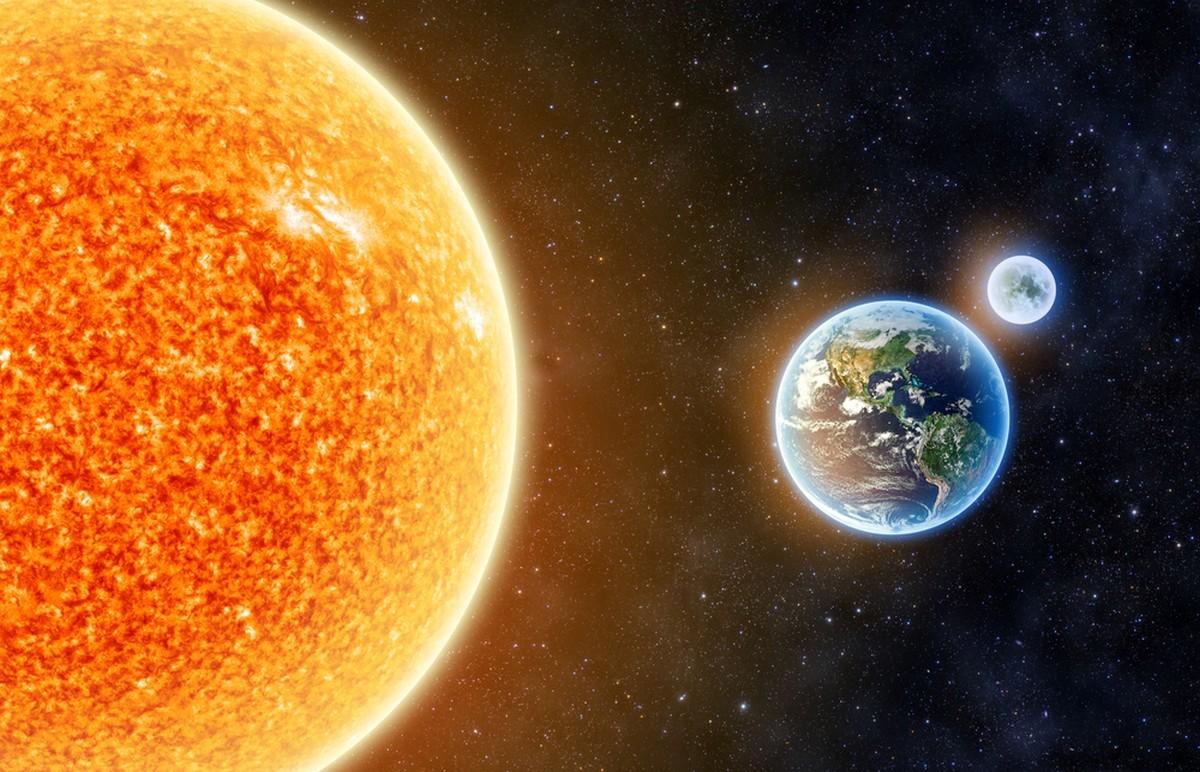 Maapallo Kiertää Aurinkoa