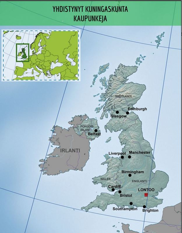 Britannian Maantiedetta