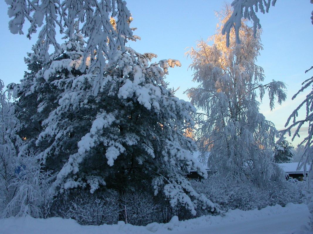 talven sää
