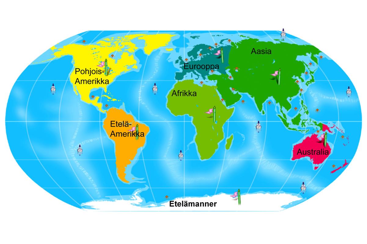 1 Euroopan Kartta