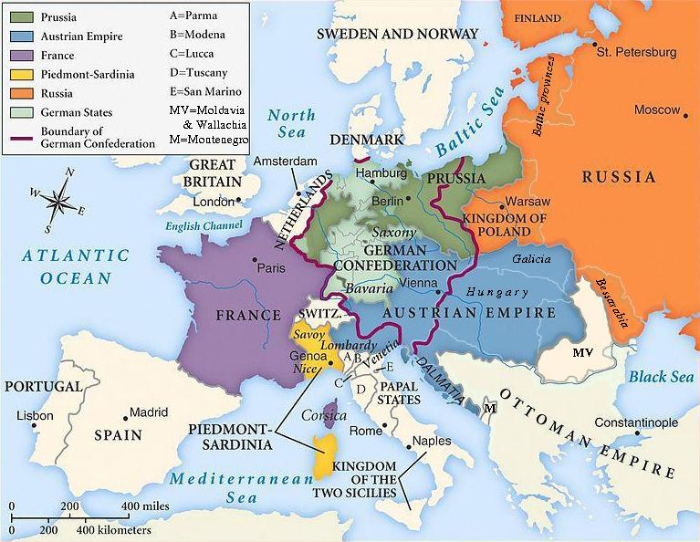 Nationalismin Aiheuttamat Muutokset Euroopassa 1800 Luvulla