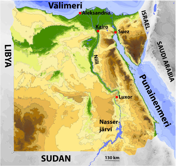 Egyptin Kartta 2