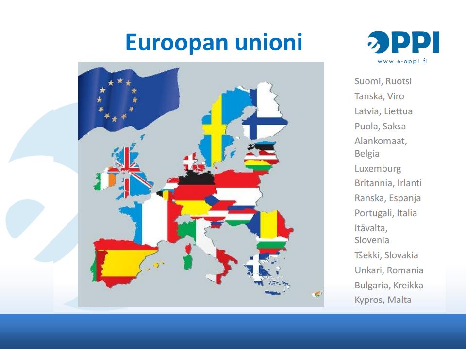 Euroopan Unioni Maat