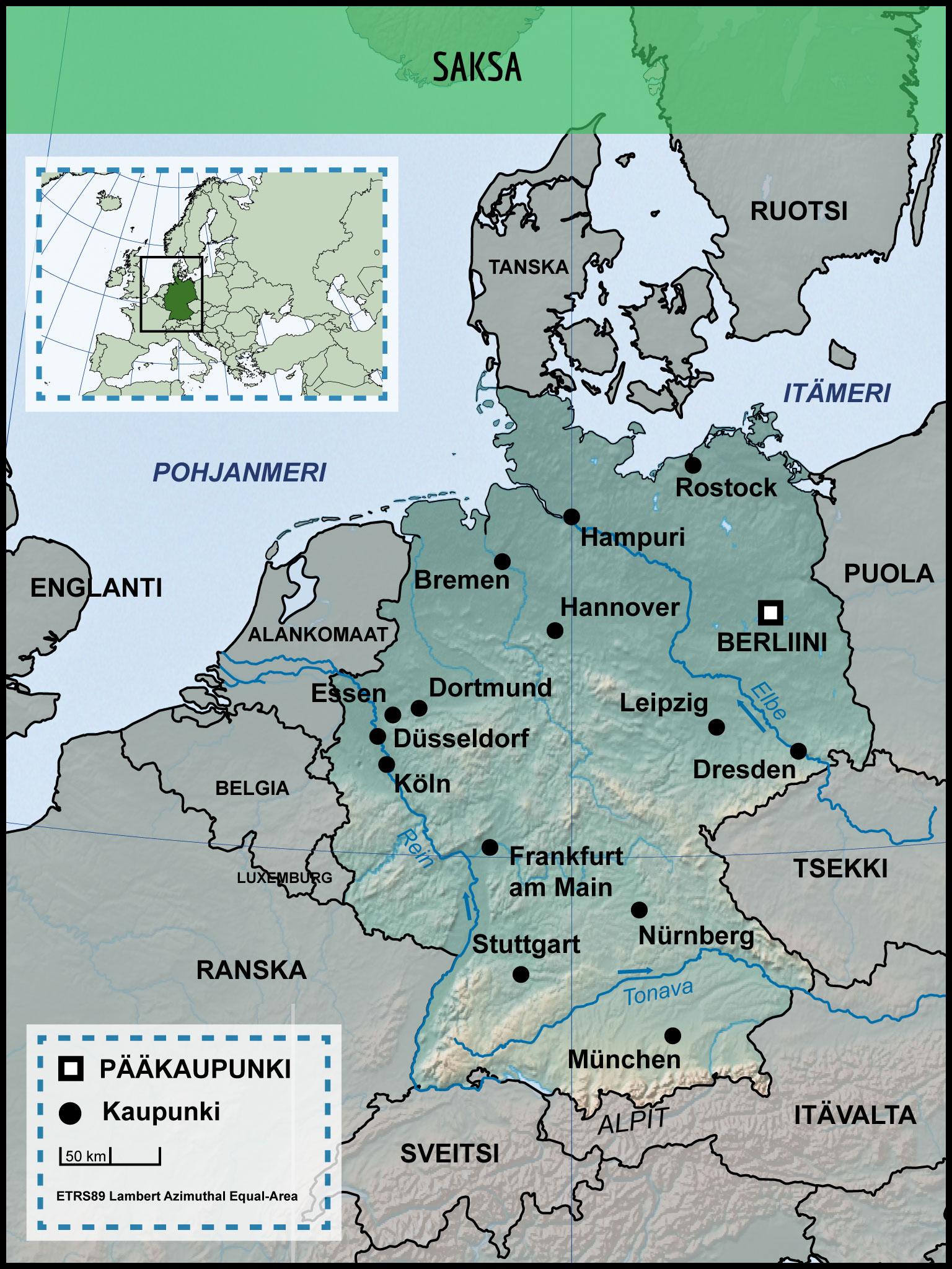 Saksan Kartta