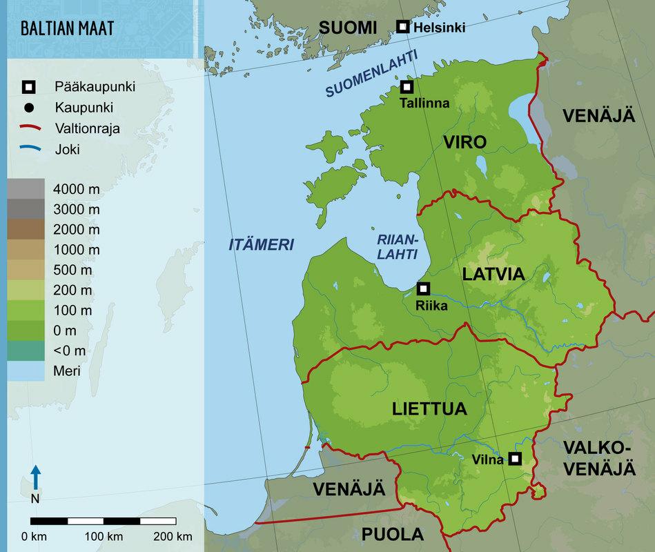 Baltian Kartta