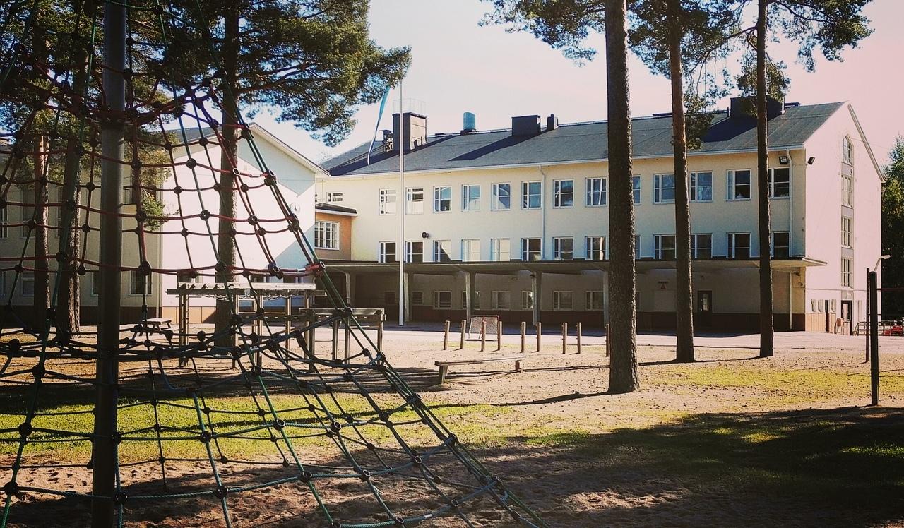 Kuva Kiikan koulusta.