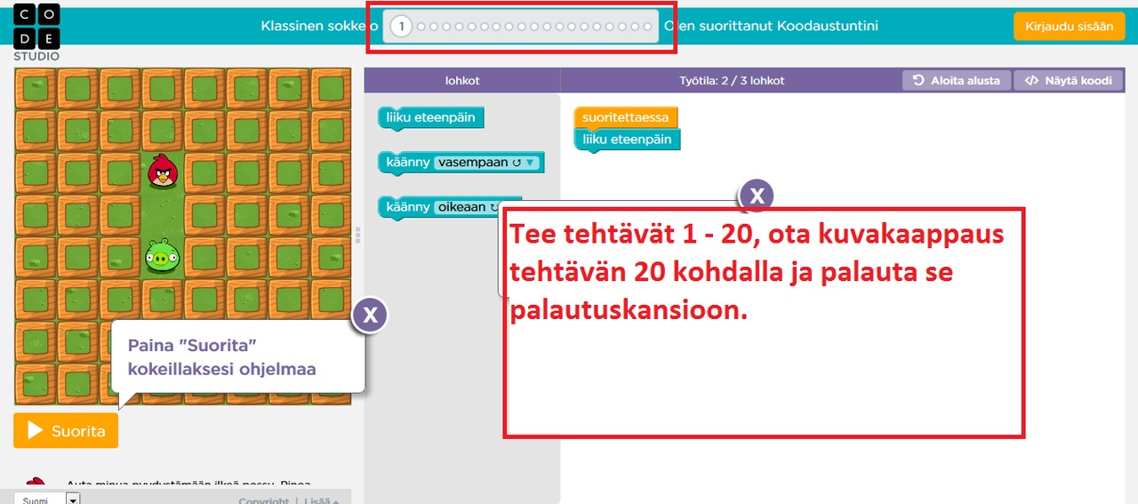 www koodaustunti Rovaniemi