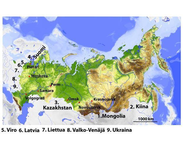 Venajan Kartta